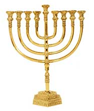 Traditional Menorahs