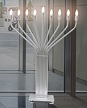 X Large Display Menorahs