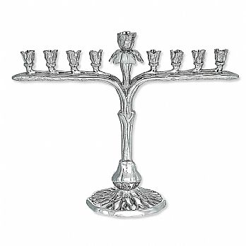 Artistic Designer Menorah - The Iris Collection