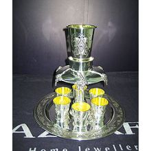 Sterling Silver Kiddush Fountain