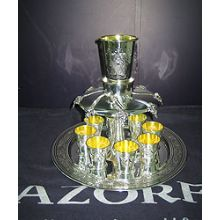 Sterling Silver Kiddush Fountain - Smooth