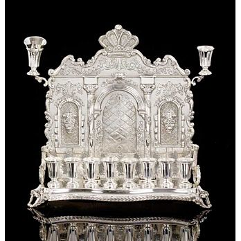 Sterling Silver Menorah - Hordus Collection