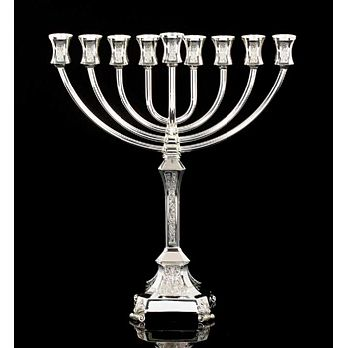 Sterling Silver Menorah -  Naora Collection