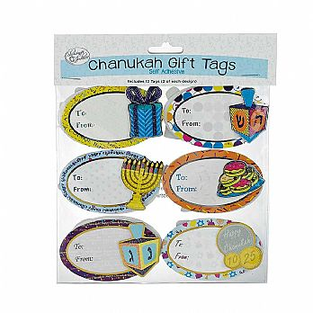 Hanukkah Gift Tags - Self Adhesive