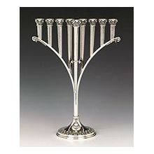 Sterling Silver Menorah - Curintos Collection
