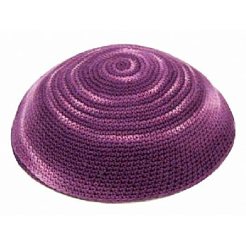 Pink Purple & Lavender Knit Kippah