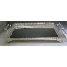 Silver Plated Lace Tray 14'' x 20''