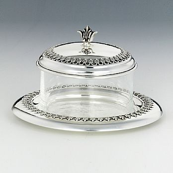 Sterling Silver Honey Dish - Lhav