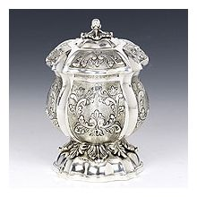 Sterling Silver Honey Dish - Balago
