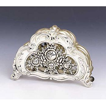 Sterling Silver Napkin Holder - Mexico