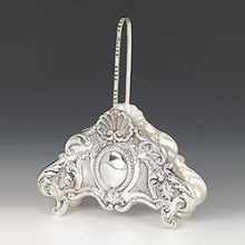 Sterling Silver Napkin Holder - Lumbardini