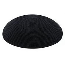 Bulk Knit Kippot - Black