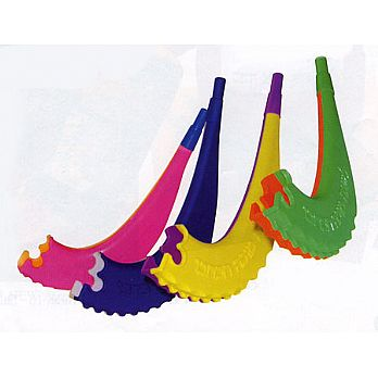 Plastic Childrens Shofar - Whistle - 25 Pack