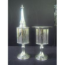 Sterling Silver Havdallah Set - Stripes