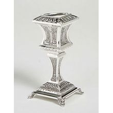 Sterling Silver Havdallah Candle Holder- Zurich