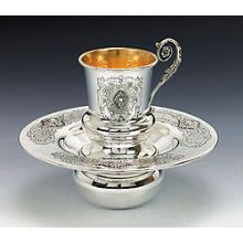 Sterling Silver Mayim Achronim Set - Smooth