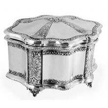Sterling Silver Etrog Box - Chatzor