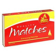 Extra Long Candle Lighting Matches Box of 45