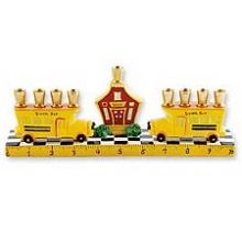 The School Bus Menorah