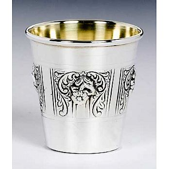 Sterling Silver Lechaim Cups - Margarette