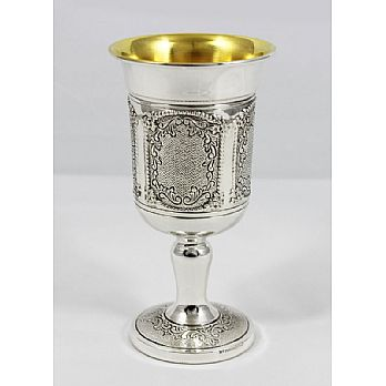 Sterling Silver Kiddush Cup - Benedetti