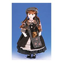 Ellis Island Porcelain Doll - Esther