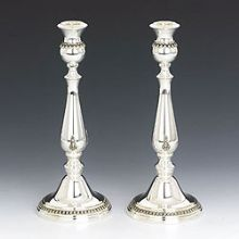 Sterling Silver Candlestick Set- filigree