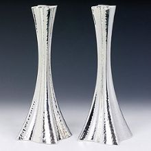 Sterling Silver Candlestick Set - Balro