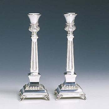 Sterling Silver Candlestick Set - Supra Micro