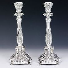 Sterling Silver Candlestick Set - Blago