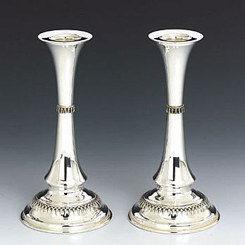 Sterling Silver Candlestick Set