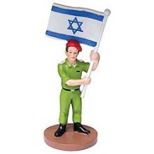 Polly Resin Figurine - Israeli Soldier