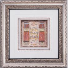 Framed Art Judaica - Lawyers Creed