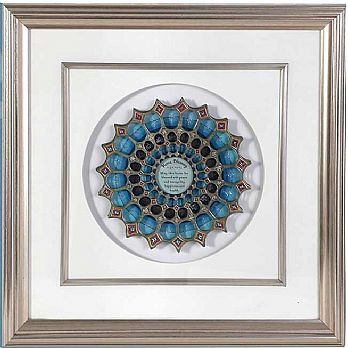 3D Framed Art Home Blessing Dome Design In English