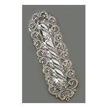 Sterling Mezuzah Cover