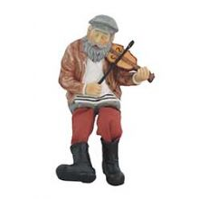 Polly Resin Fiddler Sculpture