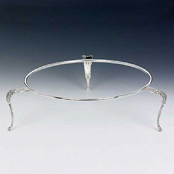 Sterling Silver Seder Plate Stand