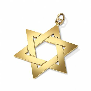14K Gold Classic Stars of David