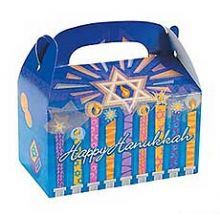 Hanukkah Carton Treat / Party Boxes 6 Pack