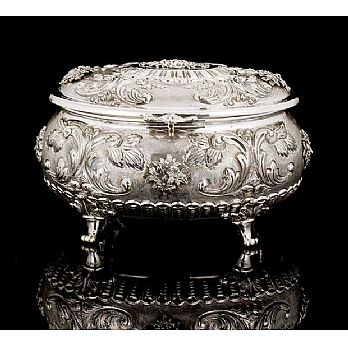 Sterling Silver Etrog Box