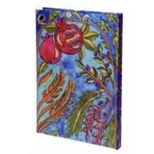 Judaic Bound Notebook - Pomegranates
