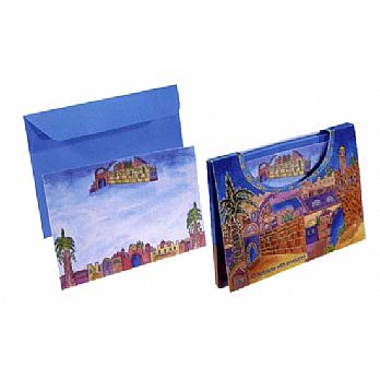 Judaic Notlets and Envelopes - 10 Pack
