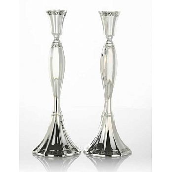 Sterling Silver Candlestick Set - Vilon