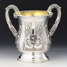 Sterling Silver Wash Cup - Margaretta