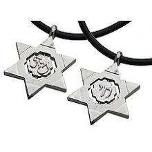 Stainless Steel Star Spinning Necklace