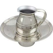 Nickel Plated Mayim Achronim Set