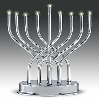 LED Battery Powered Electric Menorah