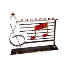 Large Music Theme Menorah by Gary Rosenthal
