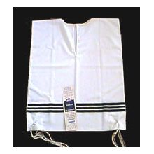 Wool Tzitzit by Miskan Hatchelet.with Avodas Yad Fringes