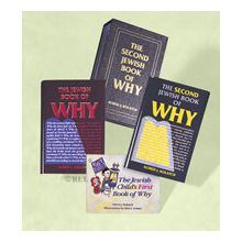 Jewish Books of WHY - Children & Adult